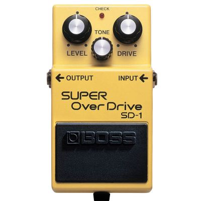 BOSS SD1 - EFFETTO A PEDALE SINGOLO OVERDRIVE VALVE SOUND