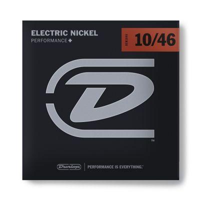 Dunlop DEN1046 Corde / Muta / Cordiera Medium per Chitarra Elettrica (10-46)