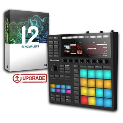 Native Instruments Maschine MKIII Black / Komplete 12 Upgrade da Select