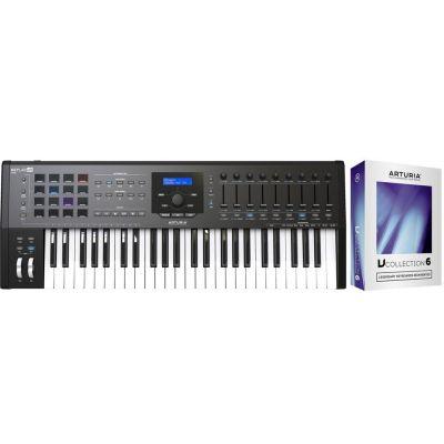 Arturia KeyLab 49 MKII Black Controller Tastiera 49 Tasti/V Collection 6 Omaggio
