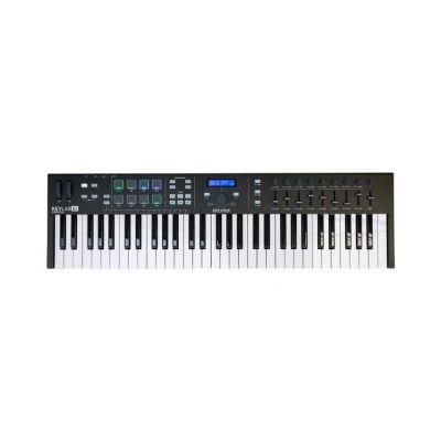 Arturia KeyLab 61 Essential Black - Tastiera MIDI/USB 61 Tasti Nera