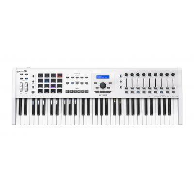 Arturia KeyLab 61 MKII White - Master Keyboard 61 Tasti