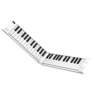 Carry On 49 Pianoforte Digitale Pieghevole Portatile 49 Tasti Bianco