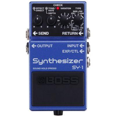 Boss SY-1 Effetto Sintetizzatore Polifonico a Pedale per Chitarra