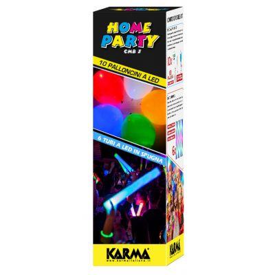 CMB 3 kit home party / Tubi a Led/ Palloncini