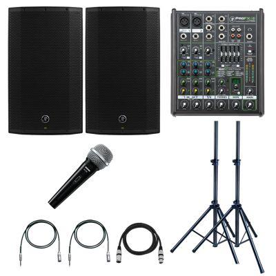 Mackie Thump 12A Impianto Audio 2600W con Mixer e Microfono per Karaoke e DJ