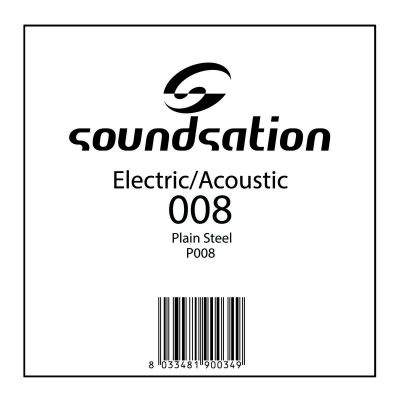 SOUNDSATION SE P008 - Singola per Acustica/Elettrica (008)