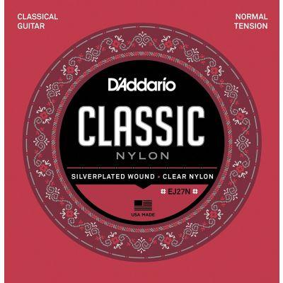 D'addario EJ27N Muta Corde per Chitarra Classica (028-043) Nylon 4/4