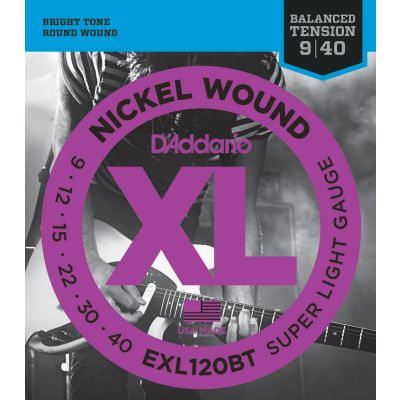 D'ADDARIO EXL120BT Balanced Tension Super Light
