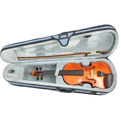 Domus Rialto VL1000 Violino 4/4 Set Completo Custodia Archetto Pece e Corde