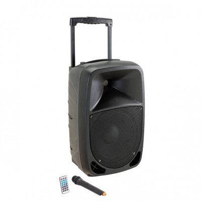 Soundsation Go-Sound 10AMW - Diffusore Attivo a Batteria 360W dj karaoke