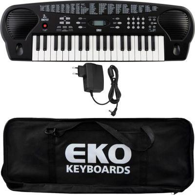 Eko Okey 37 Tastiera 37 Tasti Mini per Principianti con Alimentatore e Borsa