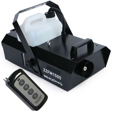 ZZIPP ZZFM1500 Macchina Fumo DMX 1500W DJ nebbia telecomando wireless