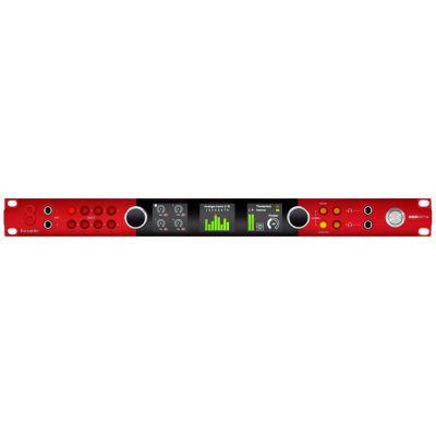 FOCUSRITE RED 8 PRE - Interfaccia Audio Thunderbolt 64 In/ 64 Out