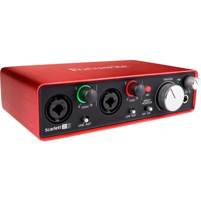 Focusrite Scarlett 2i2 2nd Generation Scheda Interfaccia Audio MIDI USB