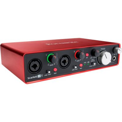 FOCUSRITE Scarlett 2i4 2nd Generation Scheda Interfaccia Audio MIDI USB