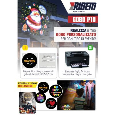 KARMA GOBO P10 Proiettore 1 LED 10W