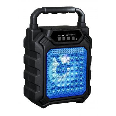 KARMA B4-B Diffusore Cassa Monitor Amplificato 25w Ricaricabile SD, MP3, FM Bluetooth