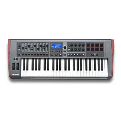 Novation Impulse 49 - Controller a Tastiera Midi/USB 49 Tasti