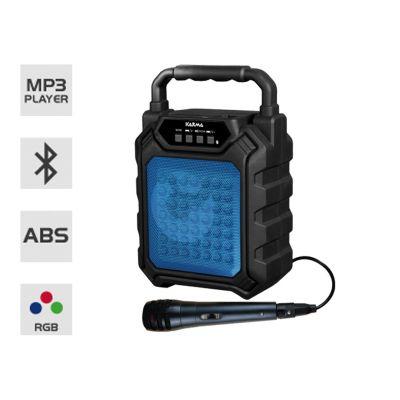 Karma Diffusore Amplificato Portatile Ricaricabile Bluetooth MP3 e Microfono