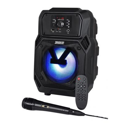 Karma Diffusore Amplificato Portatile Cassa attiva 40W Mp3 bluetooth party karaoke