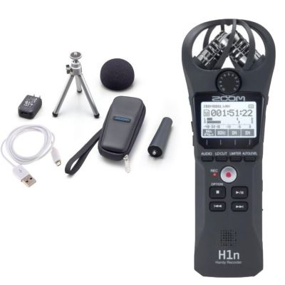 ZOOM H1n: Registratore Digitale / Kit Accessori APH1 Bundle