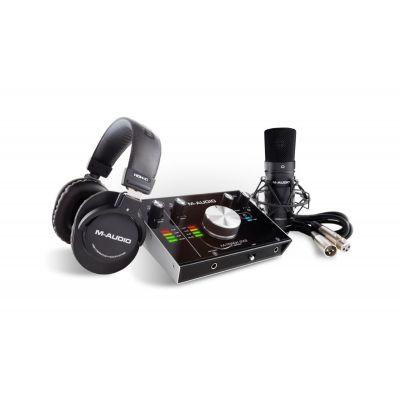 M-Track 2X2 Vocal Studio Pro - Home Studio Recording Pack