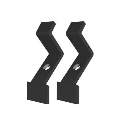 APART Coppia di Staffette da Soffitto per MASK2 Black