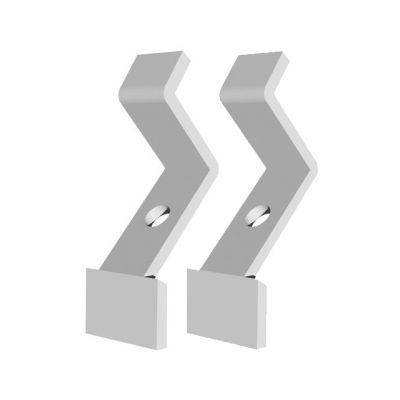 APART Coppia di Staffette da Soffitto per MASK2 White