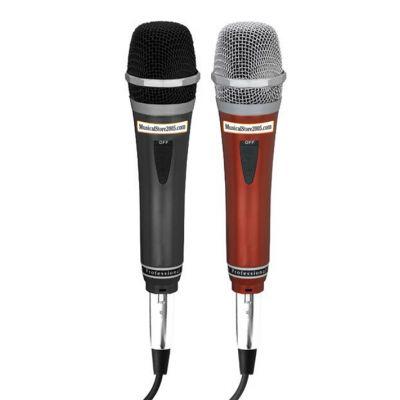 MS2005 Coppia di Microfoni Dinamici per Karaoke o Voce