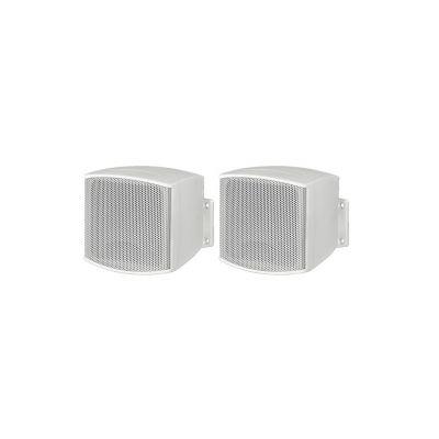 MONACOR Coppia MKS-26/WS Diffusore Passivo 10W Bianco