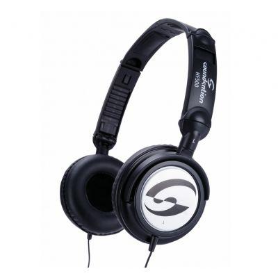 Soundsation HF 500 Cuffie DJ Stereo Tascabili Professionali Filo PC Smartphone Studio Monitor