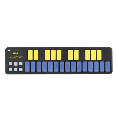 Korg - NanoKey2 Blue/Yellow - Controller USB-MIDI