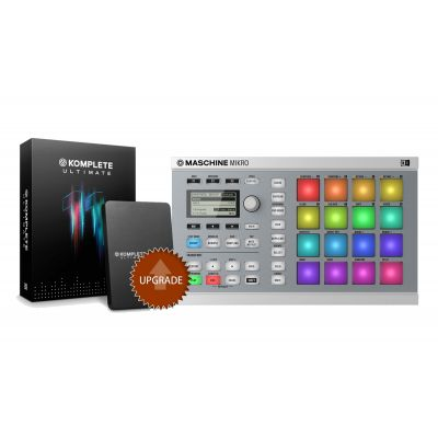NATIVE INSTRUMENTS MASCHINE MIKRO MKII White / KOMPLETE 11 ULTIMATE Upgrade da Select