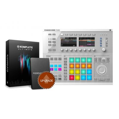 NATIVE INSTRUMENTS MASCHINE STUDIO White / KOMPLETE 11 ULTIMATE Upgrade da Select