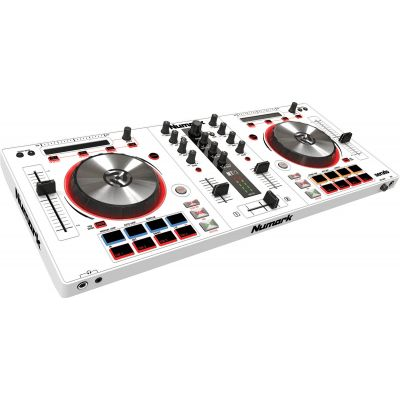 NUMARK MIXTRACK PRO III White / Controller 2 Deck all-in-one per Serato DJ