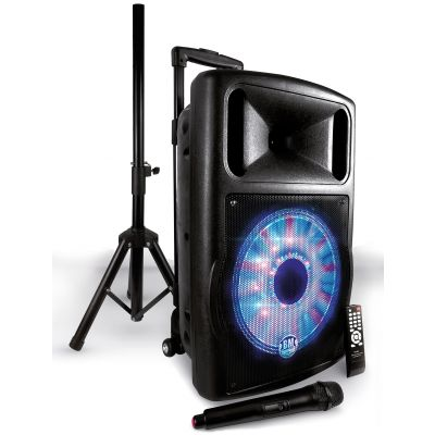 Karma Pack Fuzzy 12 - Sistema Audio Completo 70W con Stand
