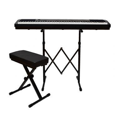 ROLAND FP50BK Pianoforte Digitale, Panchetta e Supporto