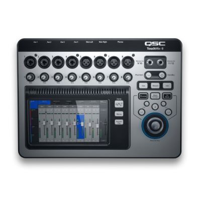 QSC TouchMix 8 - Mixer Digitale 8 Ch Wi-Fi