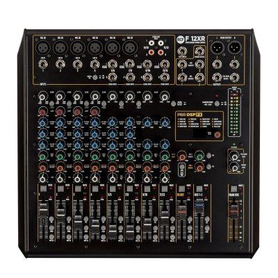 RCF F 12XR - Mixer Audio 12Ch con FX e Recording