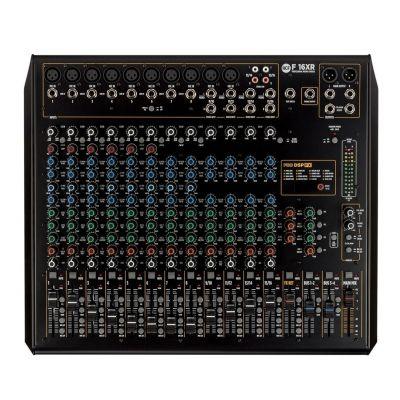 RCF F 16XR - Mixer Audio 16Ch con FX e Recording