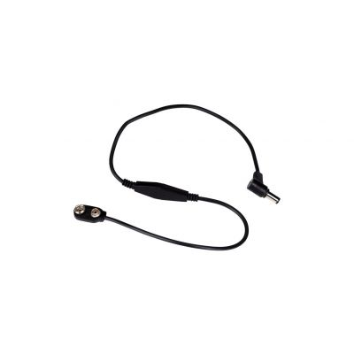 Rockbag 99999 - Cavo Coassiale / Clip Batteria 9-12V 50cm