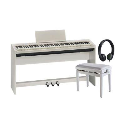 Roland FP30WH Pianoforte Digitale / Cuffia / Panchetta / Stand / Pedaliera