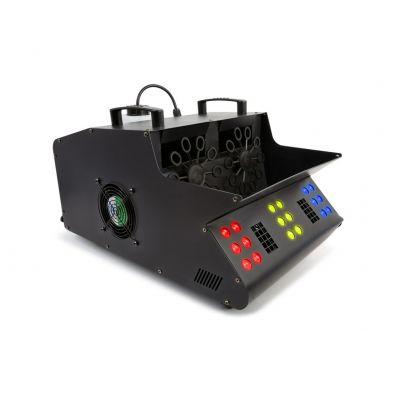 Beamz SB2000LED Macchina Spara Bolle di sapone Fumo professionale 2000W LED DJ