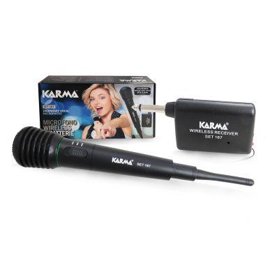 KARMA SET 167 Radiomicrofono wireless / Microfono per karaoke