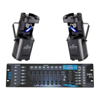 SOUNDSATION Set 2 Scanner SC-80W-1 White / DMX512
