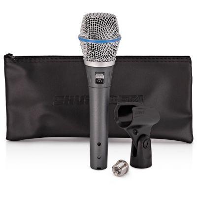 Shure Beta 87C - Microfono a Condensatore Cardioide per Voce