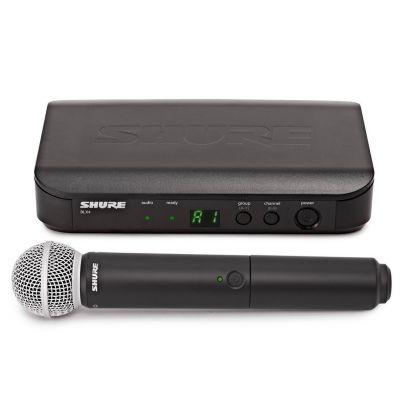 Shure BLX24E/SM58 M17 - Radiomicrofono Palmare con Capsula SM58