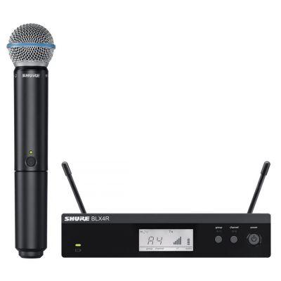 Shure BLX24RE/B58 Radiomicrofono Palmare con Capsula Beta 58A