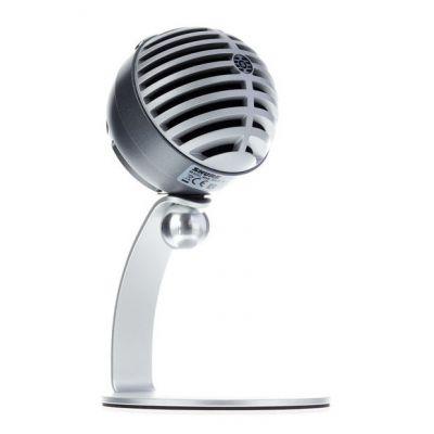 Shure Motiv MV5 Grey - Microfono Digitale a Condensatore per iOS/Android/Mac/PC
